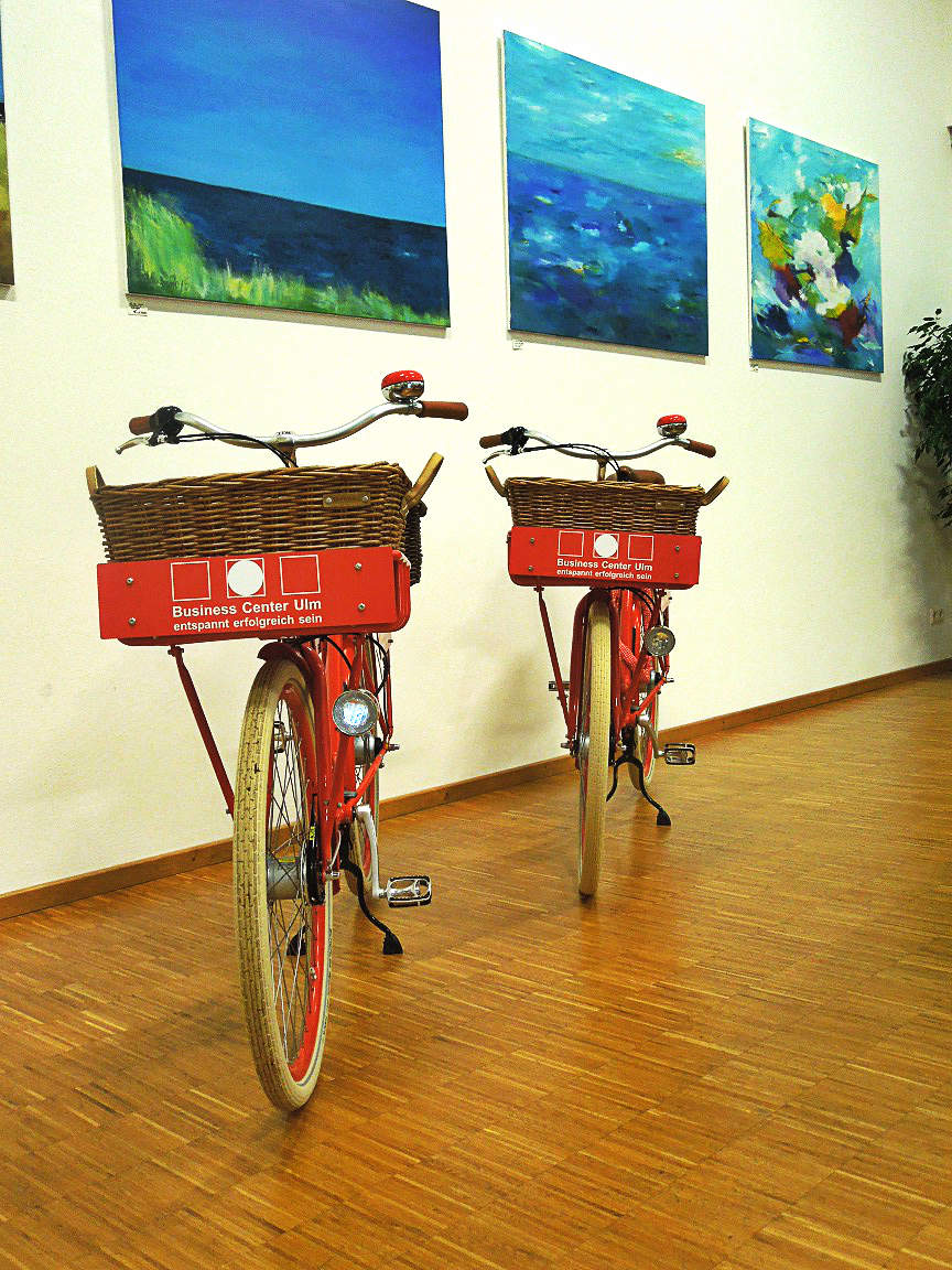 Pedaleur-PromoVelo Business Center Ulm