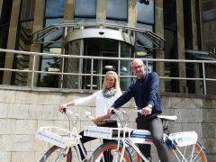 PEDALEUR-Dienstfahrräder für die Volksbank Ulm-Biberach eG