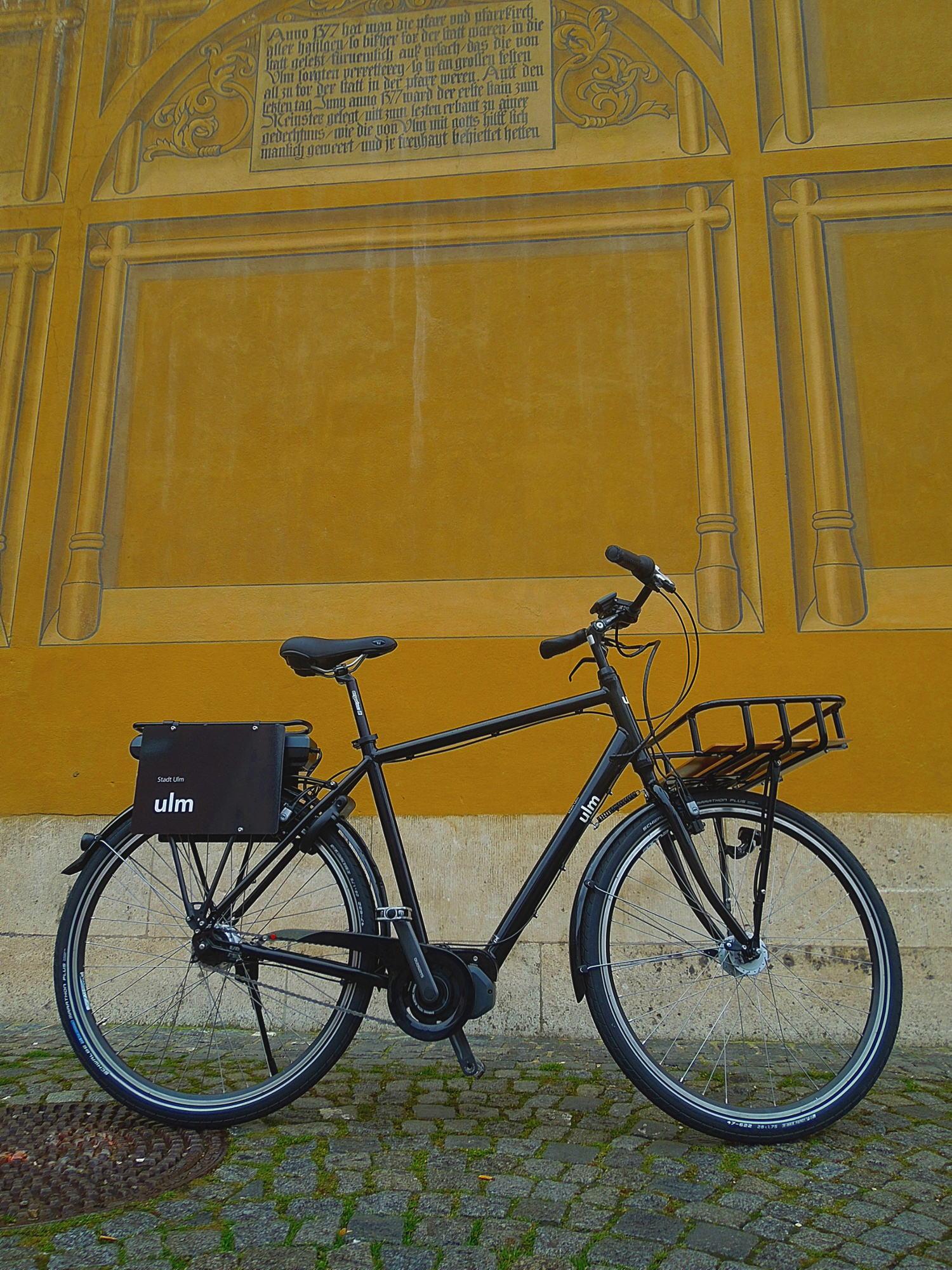 PEDALEUR Pedelec - Im Dienste der Stadt Ulm