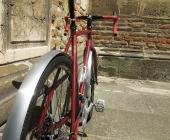 PEDALEUR CycloX - ein Traum in weinrot
